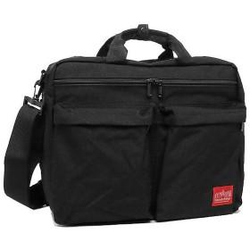 [マンハッタンポーテージ]バッグ MANHATTAN PORTAGE 1446ZH TRIBECA BAG M 3WAYバッグ ブリーフケース/バッグパック BLACK [並行輸入品]