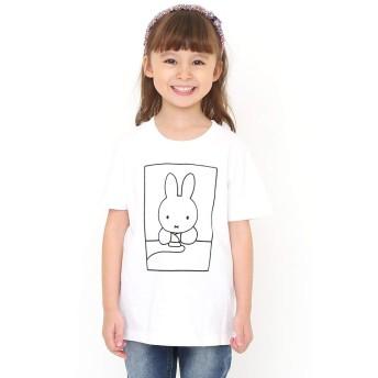(グラニフ) graniph コラボレーション キッズ Tシャツ パソコン (ミッフィー) (ホワイト) キッズ 140 (g28) #おそろいコーデ