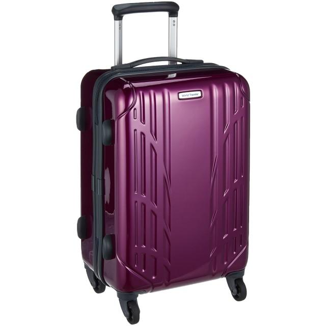 [ワールドトラベラー] スーツケース ナヴァイオ キャスターストッパー付 30L 47 cm 2.7kg パープル