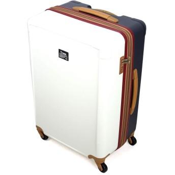 [moz(モズ)] スーツケース 69~76L 60cm 4.2kg MZ-0798-60 トリコロール