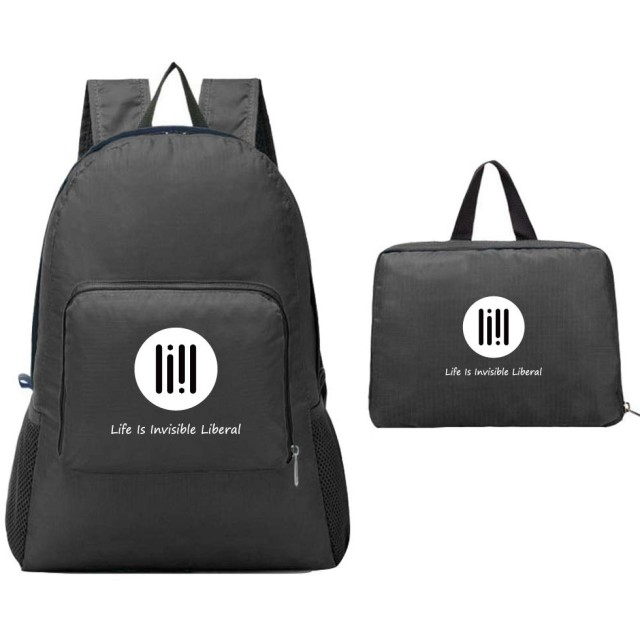 (リール) LIIL ナイロン コンパクト リュック スポーツバッグ アウトドア 旅行 折り畳み 超軽量 防水 運動 全5色