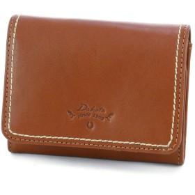 ダコタ 二つ折り財布 本革 プレッソ 0036021 レディース ブラウン DA-36021-40