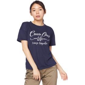 [Mizuno] アウトドアウェア フィーリンテックGP半袖Tシャツ 吸汗速乾 UVカット B2MA9221 レディース ディープネイビー 日本 M (日本サイズM相当)