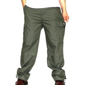 [マルカワジーンズパワージーンズバリュー] パンツ メンズ ロングパンツ ミリタリー イージーパンツ カーキ M
