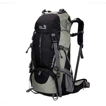Rayiisuy 登山 リュック通気性 30L アウトドア リュック サイクリングバッグ 防災 防撥水 リュックサック 多機能 軽量トレッキング 自転車 旅行 ハイキング デイパック バックパック (ブラック)