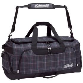 Coleman コールマン TRAVEL ボストンバッグ 80L BOSTON BAG LG ブラックチェック