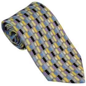 エミリオ プッチ EMILIO PUCCI 紳士 ネクタイ necktie プッチ柄 シルク100% イタリー製 P8009-1