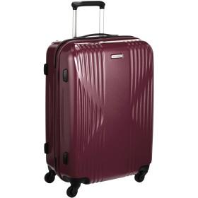 [ワールドトラベラー] スーツケース 日本製 クリアウォーター サイレントキャスター 60L 60cm 4.0kg 04063 07 ワイン
