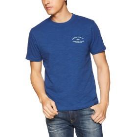 [リップカール] [メンズ] 半袖 プリント Tシャツ (クラシックFIT)[ T01-212 / RIDE SLAB SS TEE ] おしゃれ IND_インディゴ US M (日本サイズM相当)
