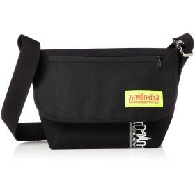 [マンハッタンポーテージ] メッセンジャーバッグ 公式 NYC Print Vintage Messenger Bag JR ブラック