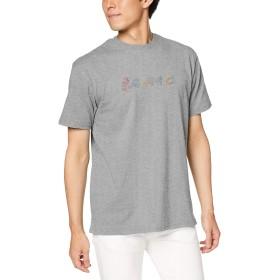 [グラミチ] Tシャツ RAINBOW LOGO TEE HEATHER GREY 日本 L (日本サイズL相当)