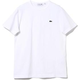 (ビームスエフ)BEAMS F/カットソー LACOSTE/ロゴ クルーネックTシャツ メンズ WHITE/001 2