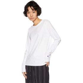 [チャンピオン] ロングスリーブTシャツ CW-N412 レディース ホワイト 日本 M (日本サイズM相当)
