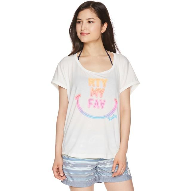 [ラスティ] レディス UVTシャツ 938432BLKL レディース WHT 日本 M (日本サイズM相当)