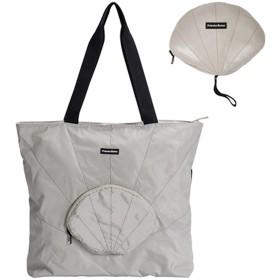 折りたたみ 旅行バッグ トートバッグ 買い物袋 レディース 軽量 防水 大容量 キャリーオンバッグ (グレー)