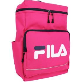 FILA(フィラ)タウンスクエアリュック BOX型 軽量 撥水 (ピンク)