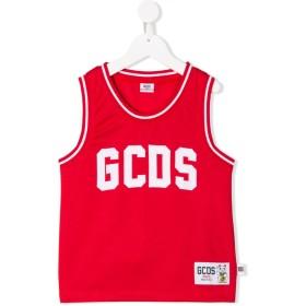 Gcds Kids ロゴ タンクトップ - レッド