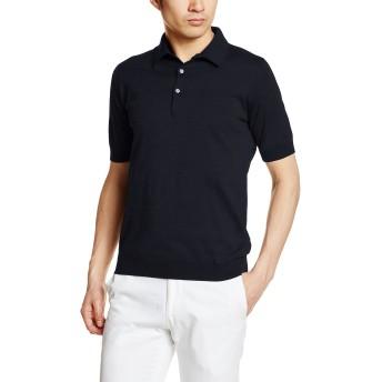 [ジョンスメドレー] ポロシャツ エス3798 メンズ NAVY UK S (日本サイズS相当)