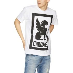 [クローム] Tシャツ BIG LOCKUP TEE 2019 メンズ WHITE 日本 M (日本サイズM相当)