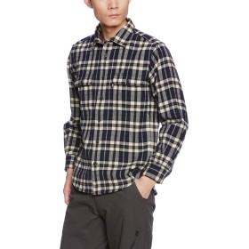 (ミズノ)MIZUNO ブレスサーモウール トレイルシャツ [メンズ] A2JC5502 15 ネイビー XL