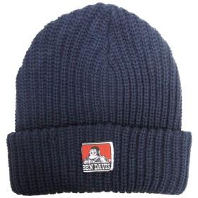 BEN DAVIS ニットキャップ ベンデイビス ニット帽 アクリル ベンデービス ニットキャップ ベンデイビス ニットキャップ (ネイビー)