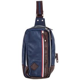 (トップイズム) TopIsm ボディバッグ メンズ ボディーバッグ ボディバック ワンショルダーバッグ カバン かばん 鞄 F 4-ネイビー