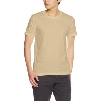 (ユナイテッドアスレ)UnitedAthle 5.0オンス レギュラーフィット Tシャツ 540101 537 サンドカーキ M