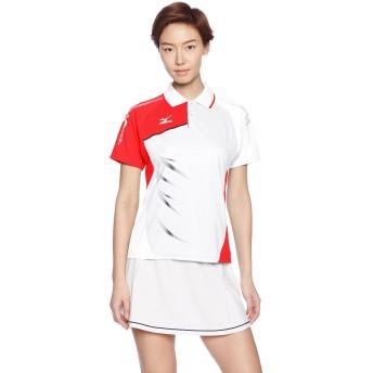 (ミズノ)MIZUNO テニスウェア ゲームシャツ [WOMEN'S] 62JA6311 01 ホワイト S