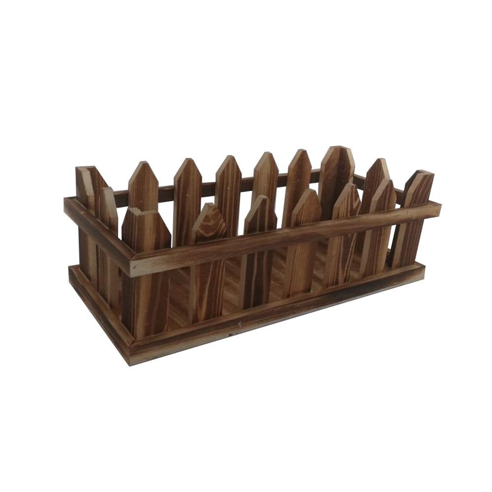 特力屋 實木燒色花槽 5吋