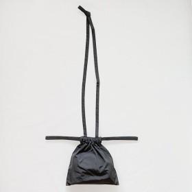 [ 再入荷10月予定 ]formuniform[フォームユニフォーム]Drawstring Bag XS With Strap-ショルダー付巾着バッグXS