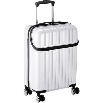 [アクタス] スーツケース ジッパー トップオープン トップス 機内持ち込み 74-20310 33L 53.5 cm 3.2kg ホワイトカーボン