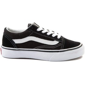 [バンズ] 靴・シューズ スニーカー Old Skool Skate Shoe - Little Kid ブラック/ホワイト US 3 (21cm) [並行輸入品]