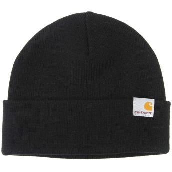 Carhartt WIP/カーハート ワークインプログレス:STRATUS HAT LOW:ストラトスハットロウ キャップ ニットキャップ 帽子 ニット帽 メンズ:フリーサイズ(ワンサイズ) ブラック