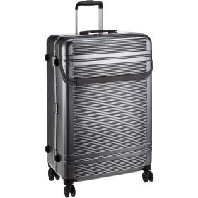 [サンコー] スーツケース フレーム WORLD STAR W 双輪 フロントオープン WSW1-LF 90L 5.8kg ヘアラインシルバー