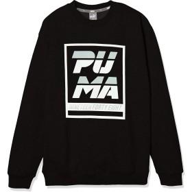[プーマ] トレーニングウェア ALPHA クルー スウェット [ボーイズ] 843950 ブラック (01) 日本 130 (日本サイズ130 相当)