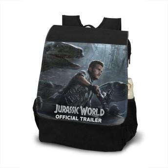 Jurassic World ジュラシック・ワールド リュックサック リュック バックパック ショルダーバッグ 2way ビジネスリュック 大人リュック 男女兼用 大容量 学生 通勤 通学 旅行 アウトドア オシャレ 男女兼用