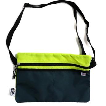 (ドリフター)Drifter SACOCHE HOPEWELL サコッシュ ショルダーバッグ BAG 旅行 アウトドア フェス バッグ カバン 鞄 ナイロン (FL YELLOW×MIDNIGHT) [並行輸入品]