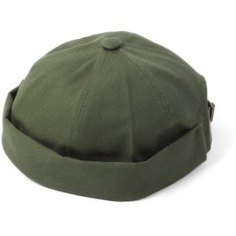[エムエイチエー] M.H.A.style ロールキャップ つばなし帽子 (コットンツイル) フィッシャーマンズキャップ オールシーズン [全5色] 22140 A.カーキ