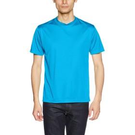 (ユナイテッドアスレ)UnitedAthle 4.7オンス ドライ シルキータッチ Tシャツ 508801 [メンズ] 538 ターコイズブルー S