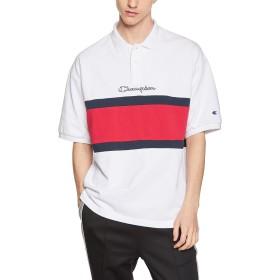 [チャンピオン] ポロシャツ C3-P310 メンズ ホワイト 日本 S (日本サイズS相当)