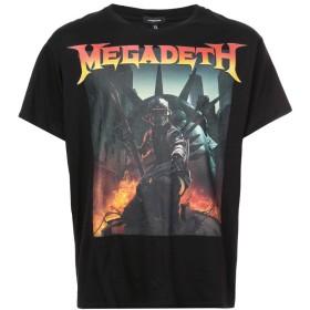R13 Megadeth Tシャツ - ブラック