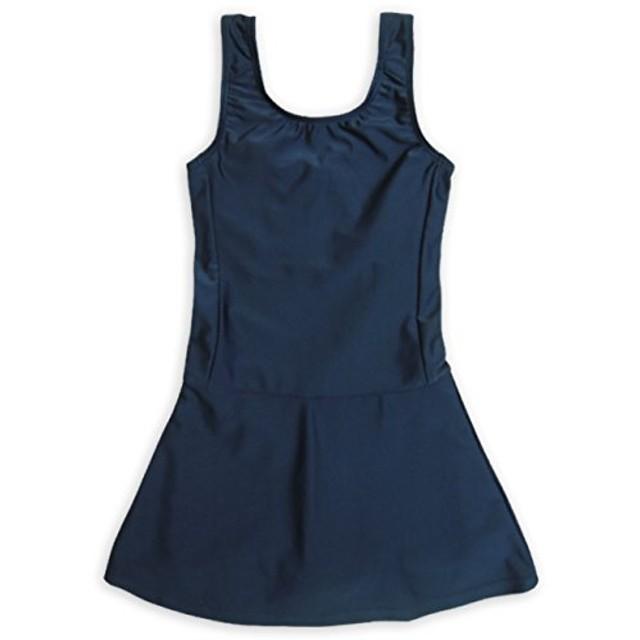 ASHBERRY (アッシュベリー) キッズスクール水着 女子用スカート&スパッツ型 [UPF50+紫外線対策加工] 110cm(865644)