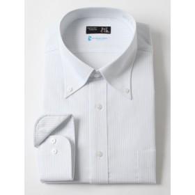 (ビーアンドティークラブ) B&T CLUB 形態安定 スパーノクール ボタンダウン 長袖 Yシャツ スカイブルー / 3L
