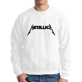 Metallica メタリカ パーカー スウェット メンズ Tシャツ スウェットシャツ スウェット トレーナー パーカー プルオーバー ストリート アメカジ 原宿 かっこいい 人気 個性 カジュアル シンプル S-XXL