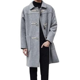FOMANSH ラシャコート メンズ ロングコート ジャケット フード付き 厚手 秋 冬