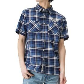 Dickies(ディッキーズ) ワークシャツ 半袖シャツ ワークシャツ 大きいサイズ 9270-1401 メンズ ブルー:S