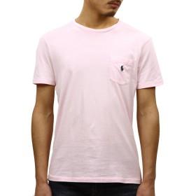 [ポロ ラルフローレン] POLO RALPH LAUREN 正規品 メンズ 半袖ポケットTシャツ CUSTOM SLIM FIT COTTON POCKET T-SHIRT L 並行輸入品 (コード:4120480509-4)