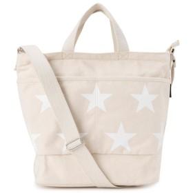 [コンバース]CONVERSE STAR Print 2WAY BAG 2WAYトートバッグ 17946900 オフホワイト/02