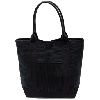 【sasicco】【三河木綿】【OBI Tote Bagオビトート】バッグ持ち手に柔道帯を使ったトートバッグ (黒)