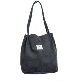 トートバッグ キャンバス レディース 大容量 ママバッグ おしゃれ 収納 肩掛け 旅行 キャンバストートバッグ 6色選択可 black